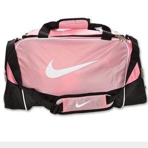 Nike Pink Mini Duffel Bag